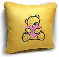 """Сувенирная подушка """" Мишка Teddy """" №18, фото 1"""