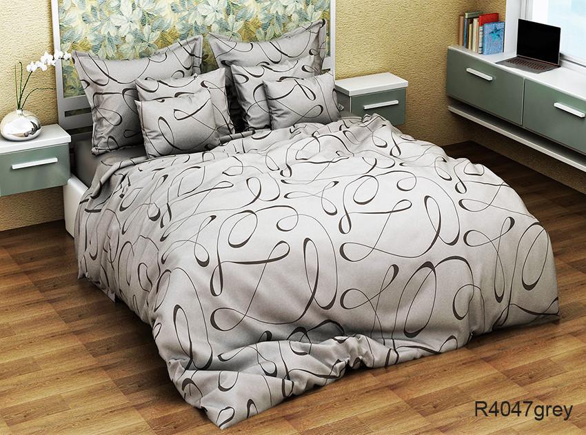 ТМ TAG Комплект постельного белья R4047grey