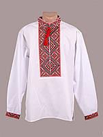 Мужская вышитая рубашка с украинским орнаментом