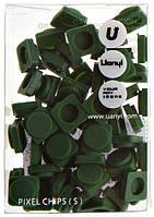 Пиксели Upixel Small - Темно-зеленый