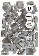 Пиксели Upixel Small-Светло-серый