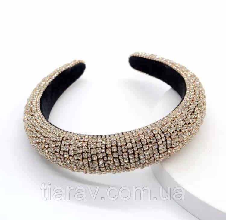 Обруч для волос в стиле Zara, обруч для волос в камнях