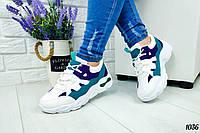 Яркие разноцветные кроссовки (только 36 размер)