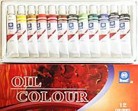 Краски масляные Memory 8612 12 цв