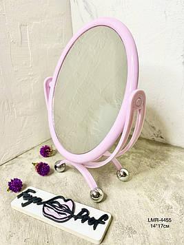 Зеркало косметическое la rosa на подставке круглое lmr- 4455