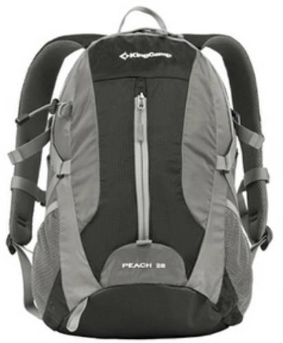 Мужской качественный рюкзак 28 л. KingCamp PEACH (KB3306) Black черный