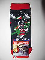 Новогодние носки детские  зимние махровые внутри хлопок турция размер 3-6лет(5)