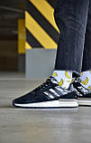 "Мужские кроссовки Adidas ZX 500 RM ""Black Camo"", фото 5"