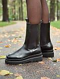 Женские кожаные ботинки Bottega Veneta, фото 2