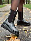 Женские кожаные ботинки Bottega Veneta, фото 3
