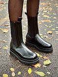Женские кожаные ботинки Bottega Veneta, фото 5