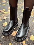 Женские кожаные ботинки Bottega Veneta, фото 6