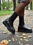 Женские кожаные ботинки Bottega Veneta, фото 8
