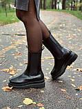 Женские кожаные ботинки Bottega Veneta, фото 9