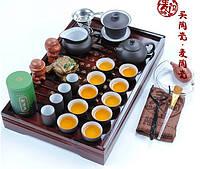 Керамический чайный набор, 27 элементов, фото 1