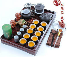 Керамический чайный набор, 27 элементов