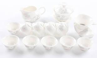 Керамический чайный набор Мудрец, 13 элементов
