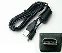 Кабель (шнур) USB UC-E6 для камер NIKON D5000, D5100, D5200, D5300, D3200, D3300 и др