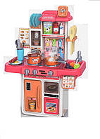 Дитяча Кухня 889-167с водою і пором, 42 предмета, фото 1