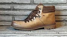 Ботинки мужские зимние Texto. Натуральная кожа и мех. (Оригинал). 45 размер