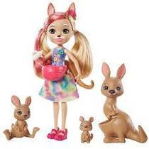 Кукла Энчантималс  Камилла Кенгуру и три питомца Kamilla Kangaroo Enchantimals GTM31