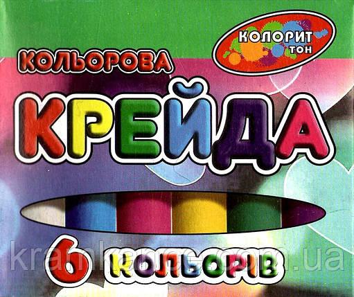 Крейда кольоровий TIKI 51503 круглий 12кол., фото 2