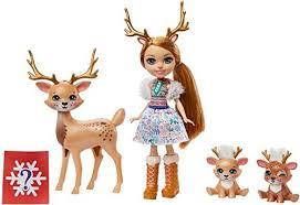 Кукла Энчантималс   с питомцем Enchantimals  GJX43 GNP17, Rainey Reindeer