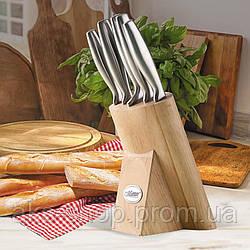 Набор ножей из нержавеющей стали на подставке Maestro MR-1420 (6 шт)   кухонный нож   ножи Маэстро, Маестро