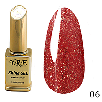 Гель-лак Y.R.E Shine Gel № 06 (15 мл)