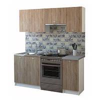 Кухня  Марта Грейс Дуб сонома 1,8 м зі стільницею 40 см