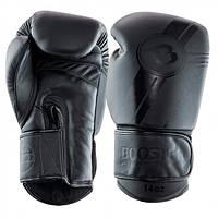 Боксерские перчатки Booster Pro Dark Side 14 oz Черный Таиланд