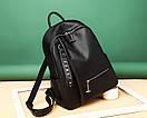 Женский модный кожаный рюкзак, фото 2