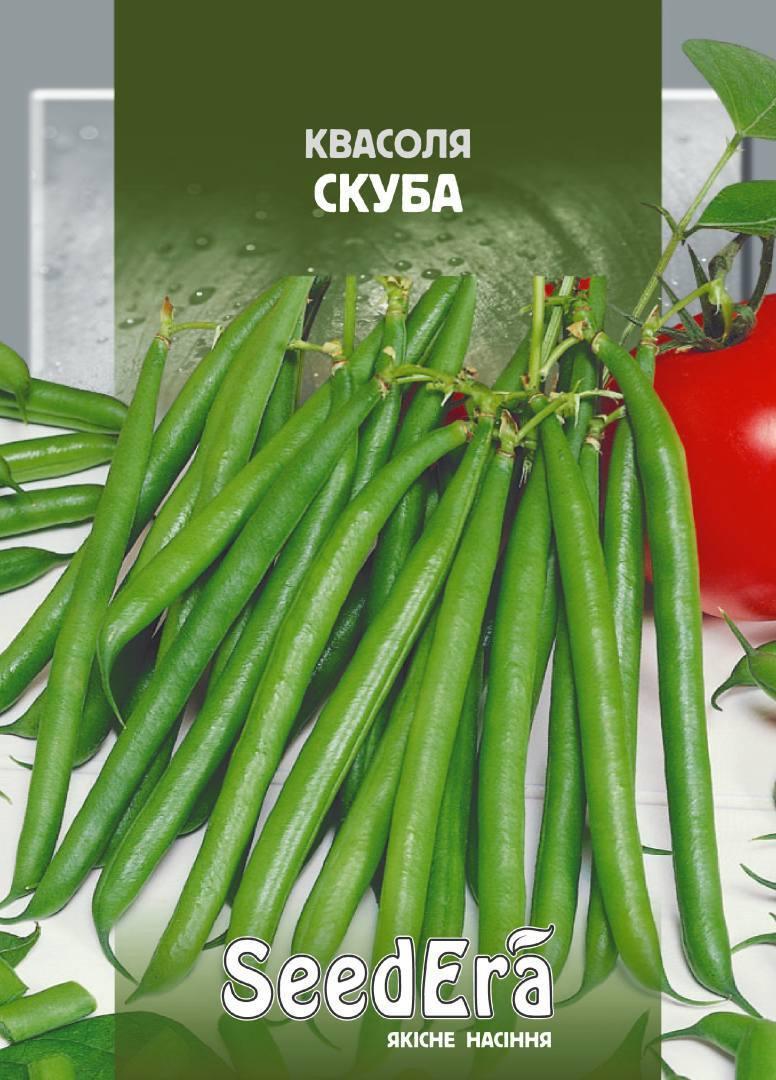 Насіння Квасоля спаржева Зелений гігант, 5,0 г