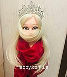 Vanessa's crown - Розкішна корона півколом з неймовірним сяйвом (9 cм), фото 4