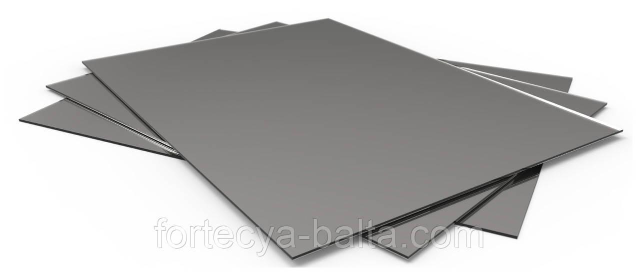 Лист металевий гладкий 1 мм 0,3*1 м