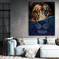 Картина на холсте Under water 50 на 65 см новинка