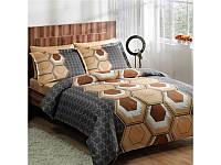 Комплект постельного белья ТАС Aspen V1 сатин де люкс 220-200 см, фото 1