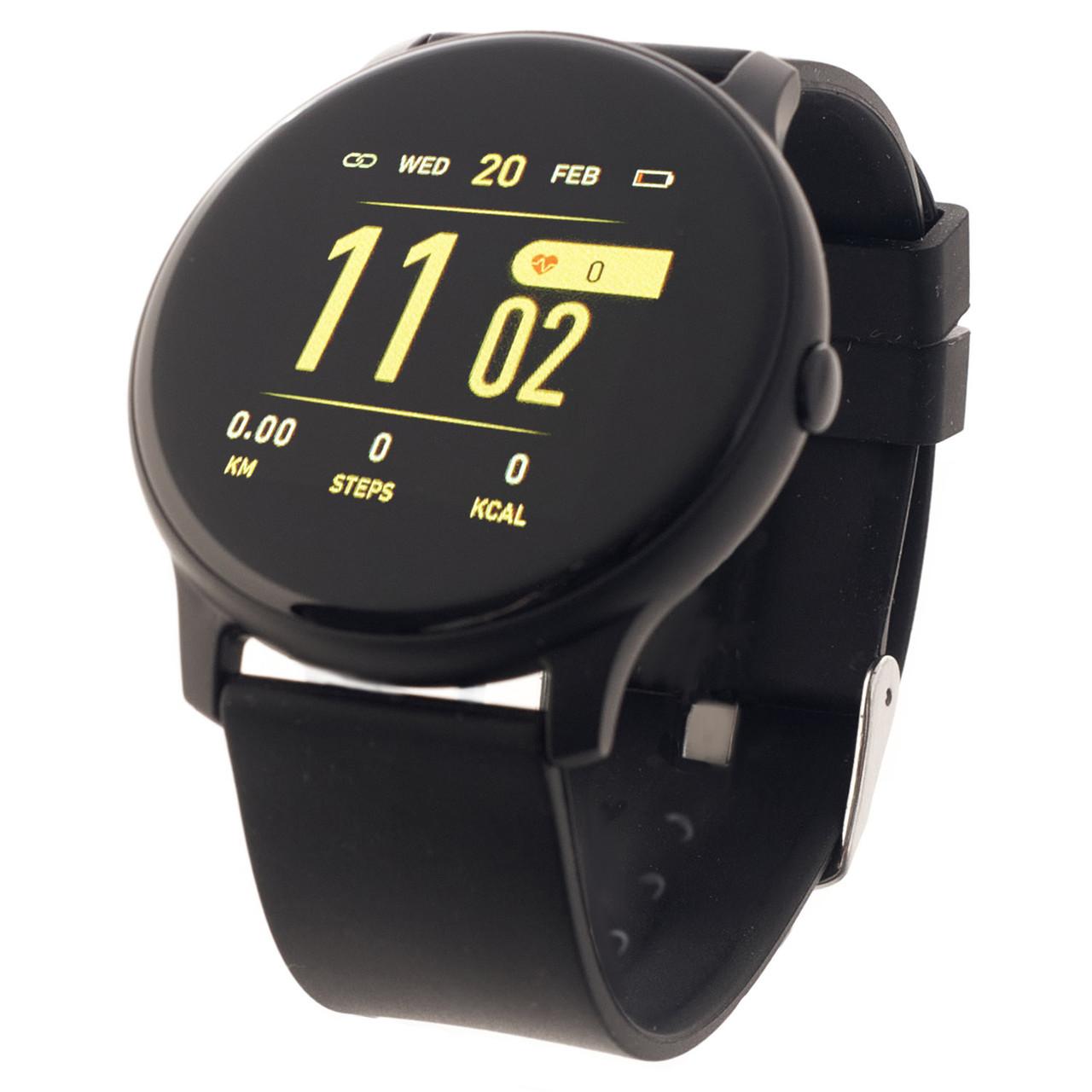 Смарт годинник Kospet чорні водонепроникні розумні фітнес годинник SmartWatch. Інноваційні годинник