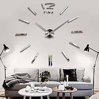 Большие Настенные Часы для Современного Офиса, Кабинета, или Гостинной мин-65см мах-130cm