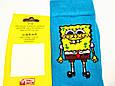 Шкарпетки високі з принтом Спанч Боб розмір 37-43, фото 4