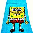 Шкарпетки високі з принтом Спанч Боб розмір 37-43, фото 3