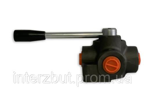 Кран гидравлический четырехходовой шаровой высокого давления 303 3/4 (закрытый) Болгария Badestnost