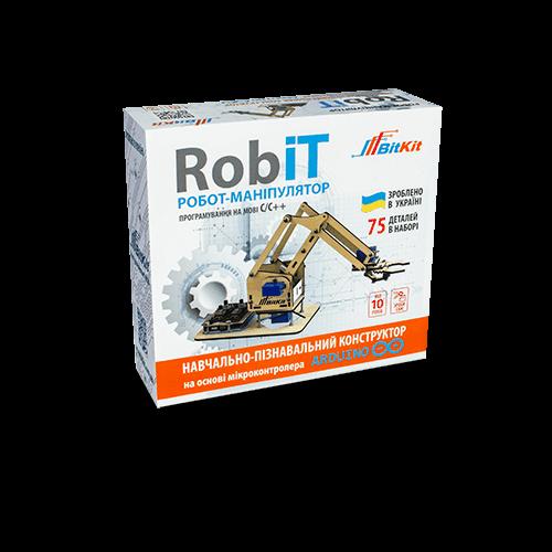 Конструктор робот-манипулятор - RobiT