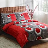 Комплект постельного белья ТАС Aspen V4 сатин де люкс 220-200 см, фото 1