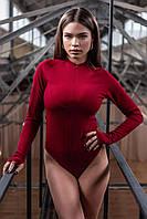 Боді жіночий 402 (42 44 46 48) (чорний,білий,червоний,лаванда, беж,персик,блакитний, світлий беж, бордо,олива) СП, фото 1