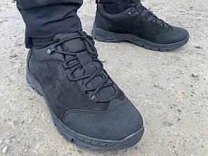 Кроссовки тактические кожаные демисезонные  Extrem Черные (40-46)