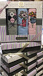 Набор Полотенец Для Кухни в Коробке 40/60 см На Подарок 3 шт Хлопок Вафельные Турция Nilteks, фото 5