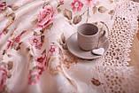 Скатерть Праздничная с Кружевом 110-150 3D «Beautiful» Прямоугольная №4, фото 4