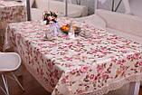 Скатерть Праздничная с Кружевом 110-150 3D «Beautiful» Прямоугольная №4, фото 3
