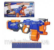 Бластер Хайперфайр Hasbro Nerf N-Strike Elite HyperFire Blaster
